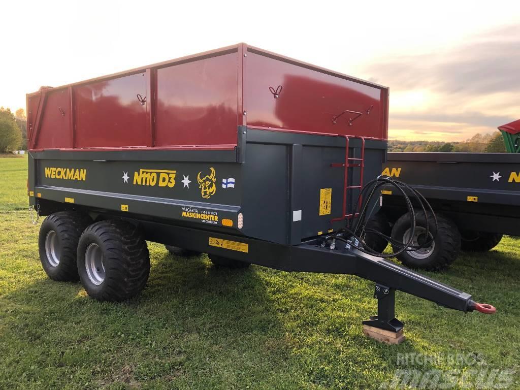 Weckman Proffsdumper 11 ton ND110