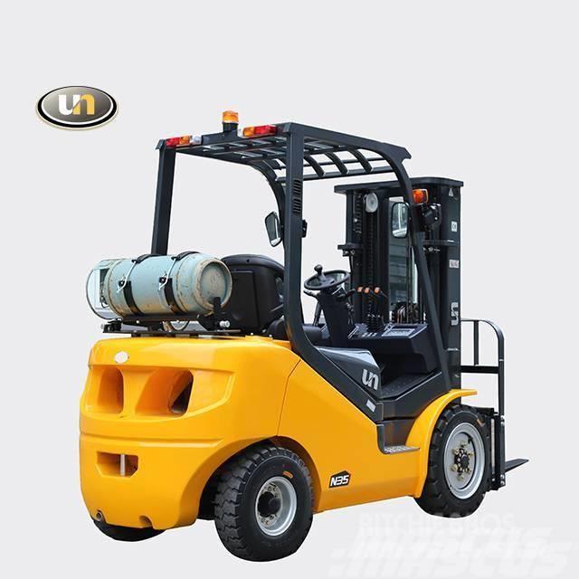 UN Forklift FGL35T 3.5Ton LPG and Gasoline Forklift  Nissan En