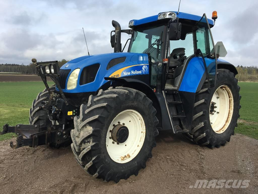 New Holland TVT 190 -05