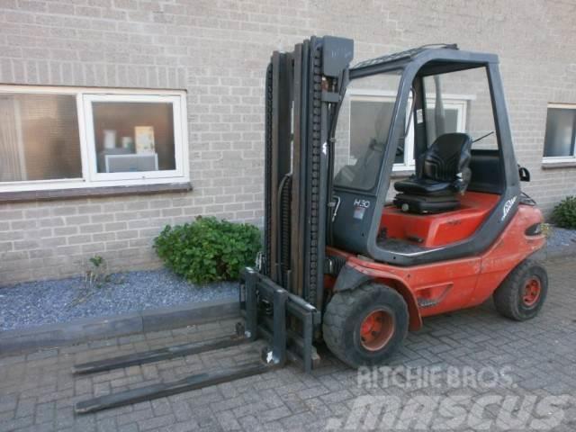 LPG Heftruck LINDE H30T Triplo 4,7 M SHIFT Freelift