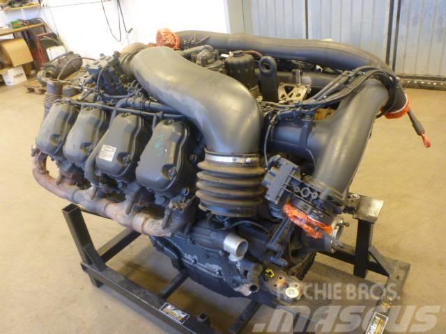 Scania R580 Motor