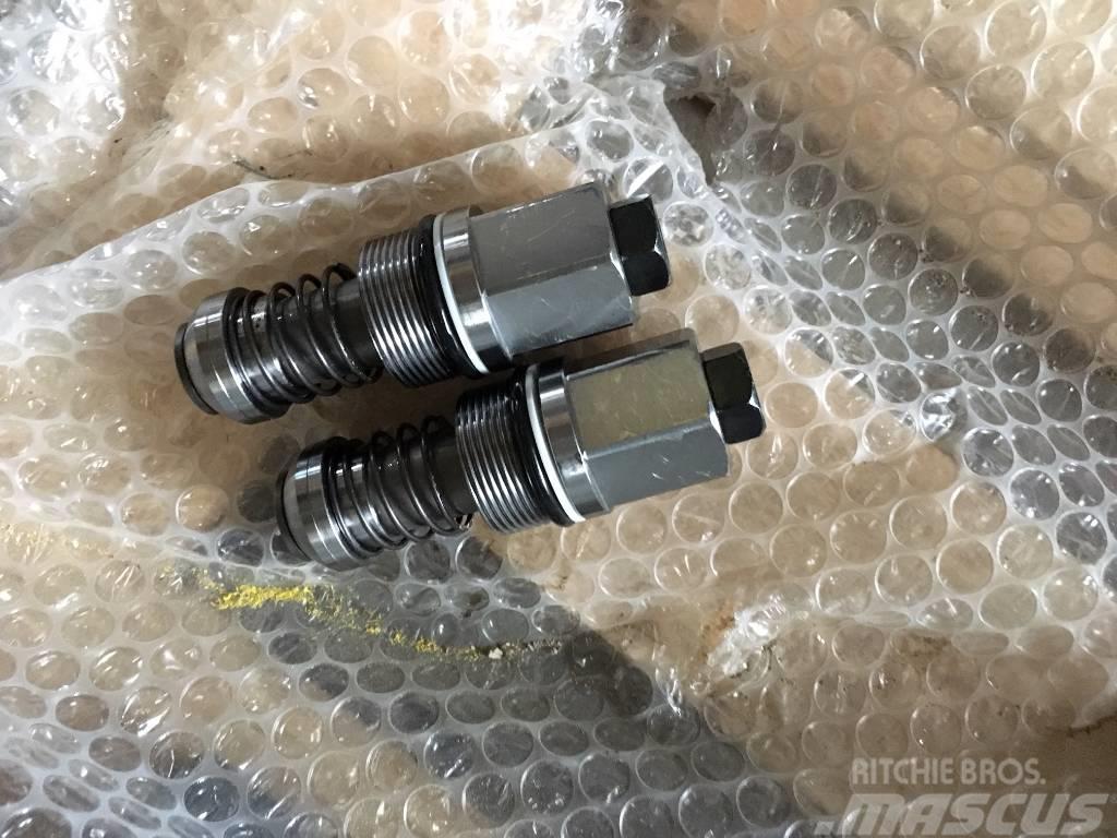 Wacker Neuson Bagger 2503 Drehantrieb - Druckbegrenzungsventil