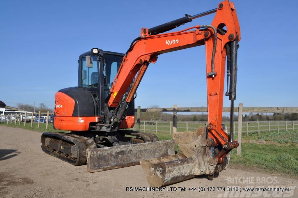 Kubota U48 4 48t Mini Midi Excavator 2 Buckets Price 22093