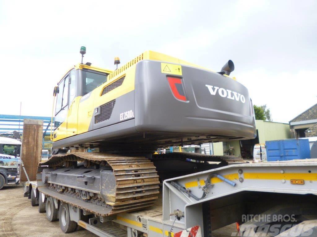 Volvo EC 250 D L, Uthyres