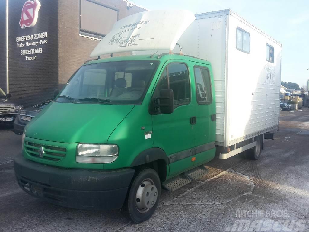 """Renault Mascott paard/horse/ truck 81""""km"""