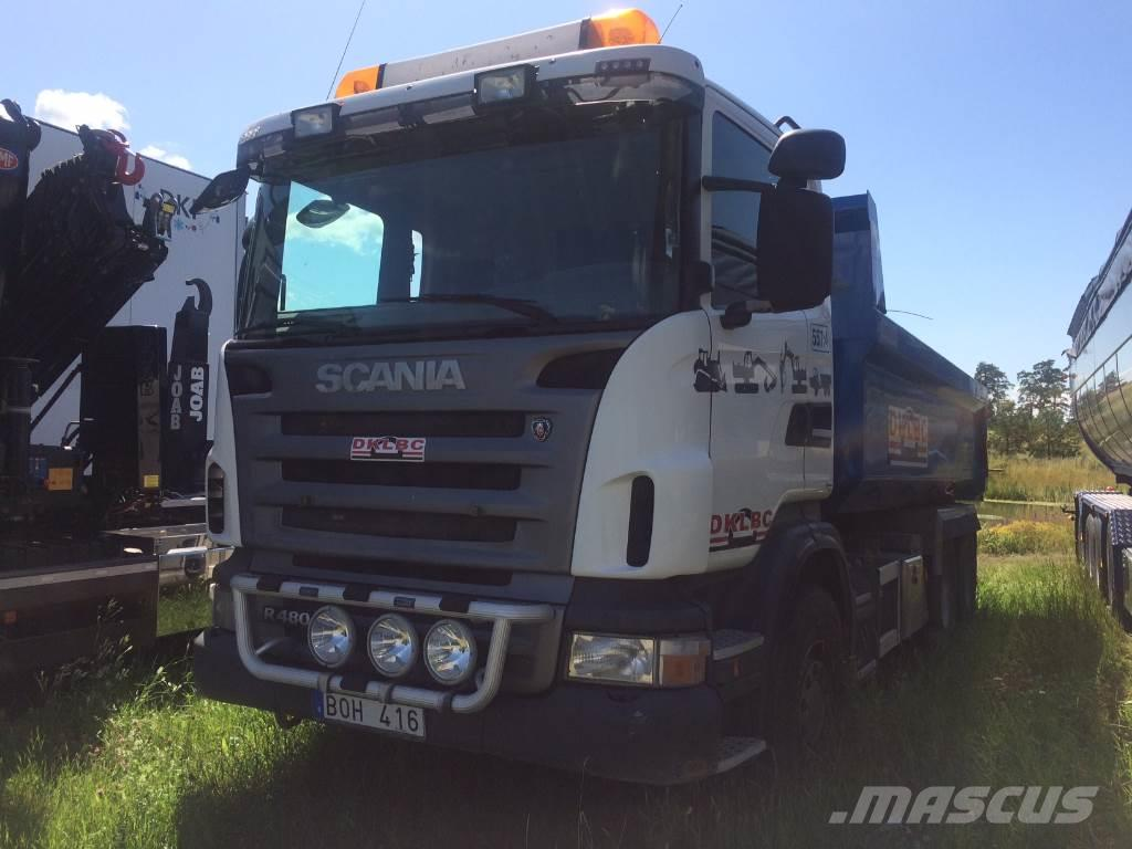 Scania R480 6x4 Sörling