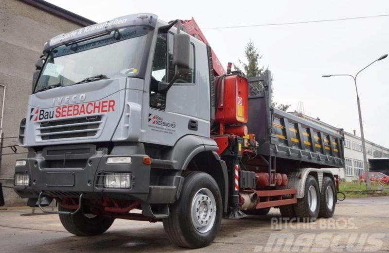 Iveco TRAKKER 320 6X4 FASSI 410/ 450
