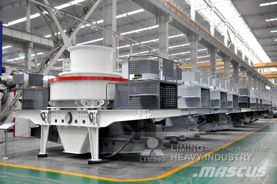 Liming 120~190 т/ч VSI5X8522 ударная дробилка