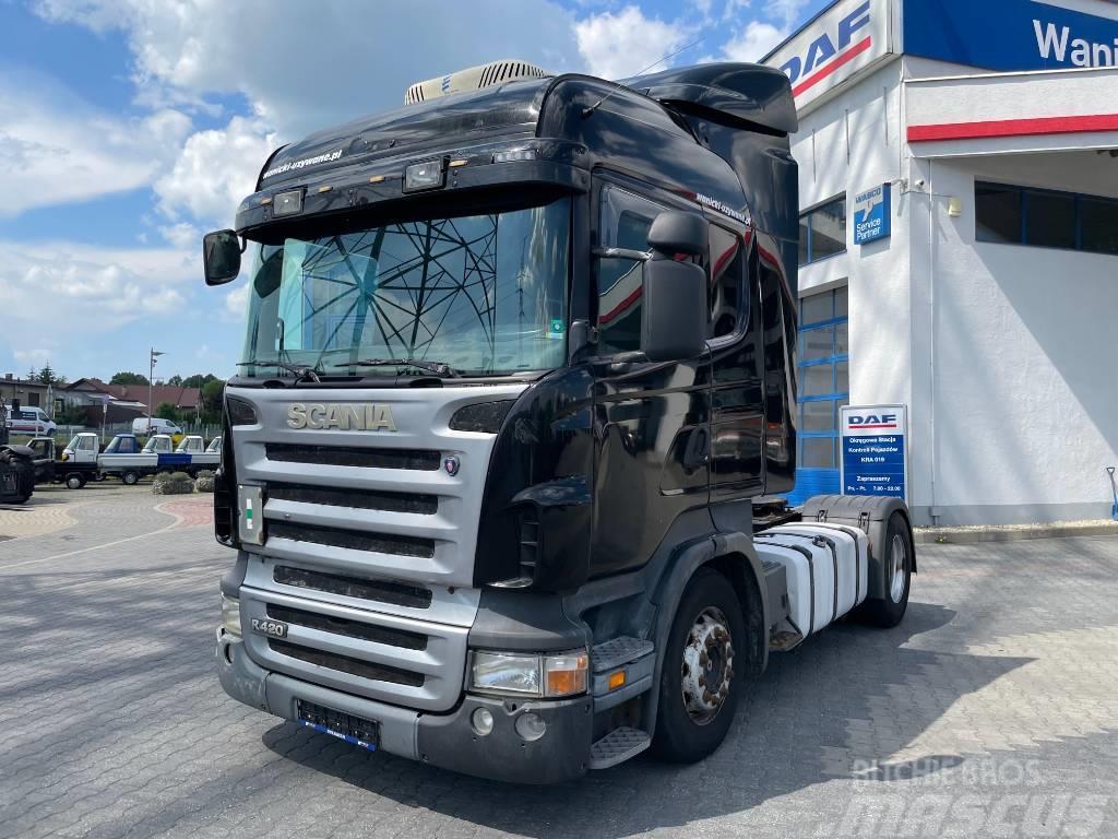 Scania Highline Klima Postojowa R 420 Nowy silnik