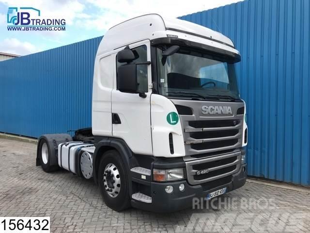 Scania G 420 EURO 5, Retarder, Airco, ADR, PTO