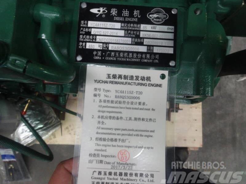 Yuchai diesel engine rebuilt