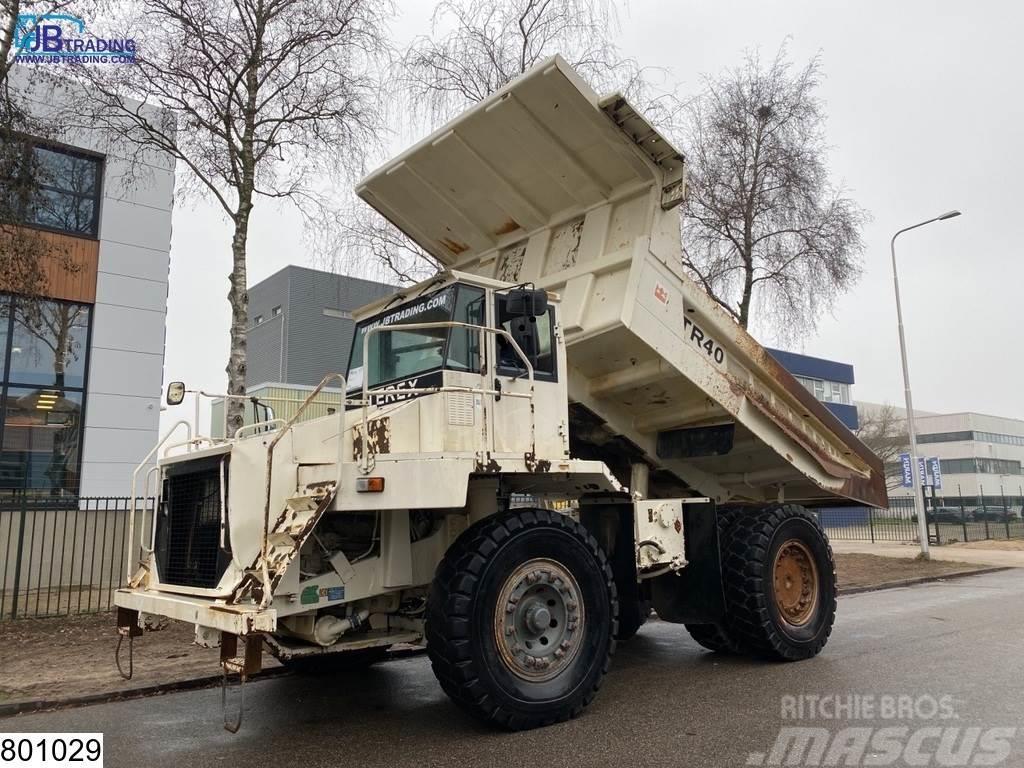 Terex TR 40 Rock Dumper Truck, 349 KW / 475 PK, 7559 hou