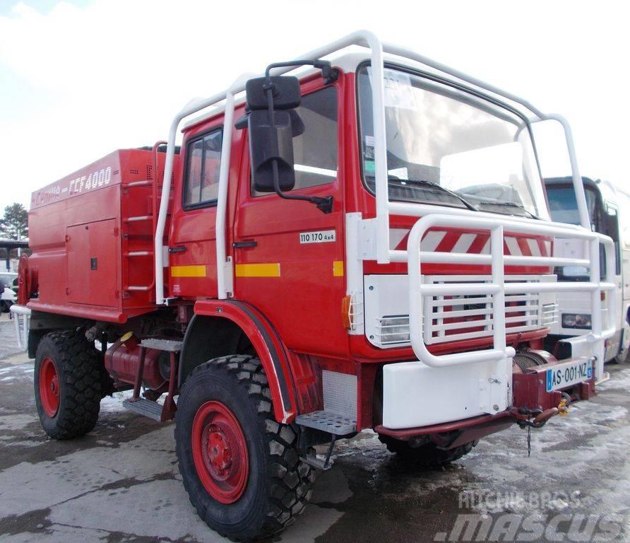 Renault 110 170 4x4 CCF4000 Pożarniczy