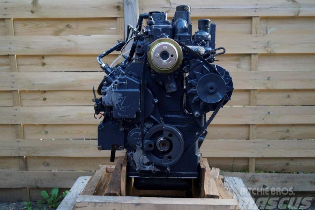 Perkins ENGINE MOTOR KE103-15 100 SERIE 3 Cyl Case CAT JCB, 2010, Motorer