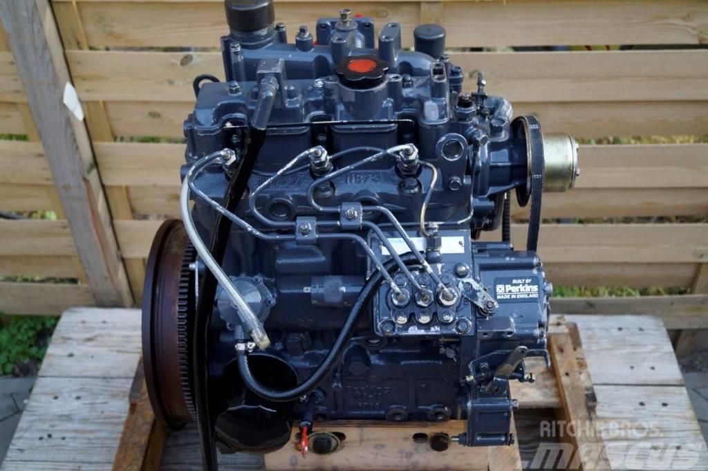 Used Perkins Engine Motor Ke103 15 100 Serie 3 Cyl Case