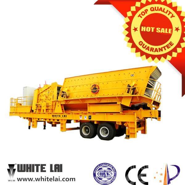 White Lai Mobile Impact Crusher Crushing Plant WL3S2160F1315
