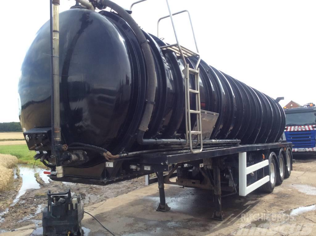 Crossland 33000 Litre Vac Tanker