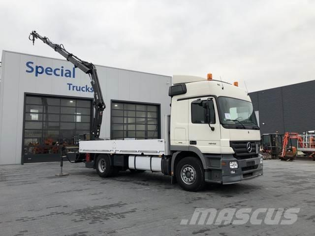 Mercedes-Benz 1846 euro 5 + Hiab 122E-3 Duo