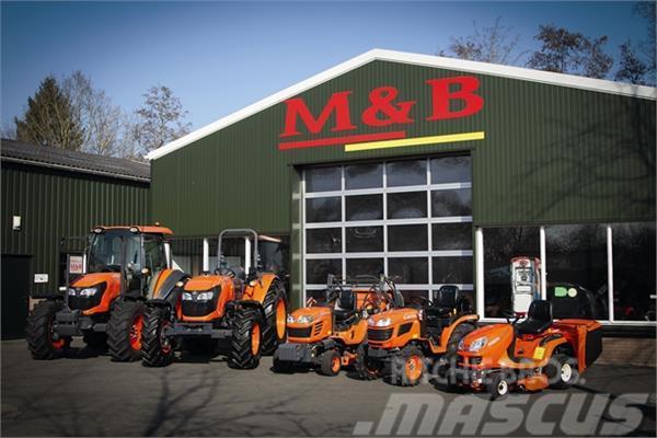 Kubota alle modellen, 2017, Traktorer