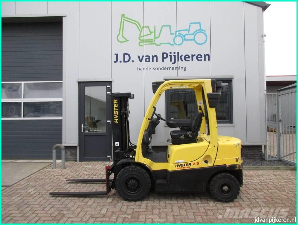 Hyster H2.5FT 2.5t diesel triplex freelift sideshift!