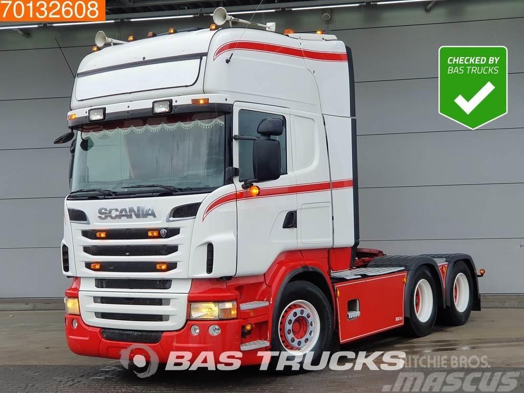 Scania R500 6X4 Manual V8 Hydraulik Euro 5