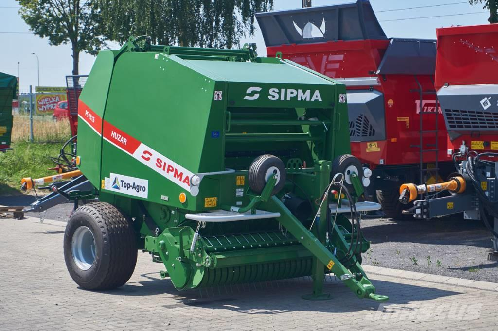 Sipma PS 1315 HUZAR fixed chamber round baler