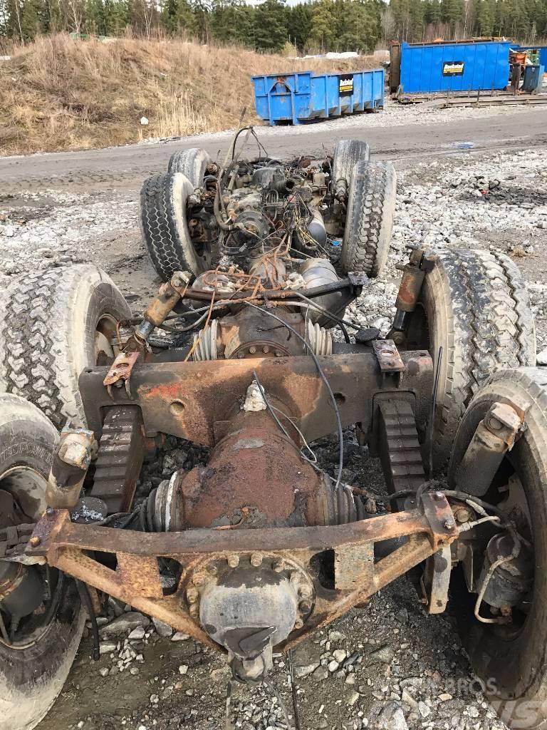 Tatra 815 PJ 36 8x8 V10 diesel motor & drivlina