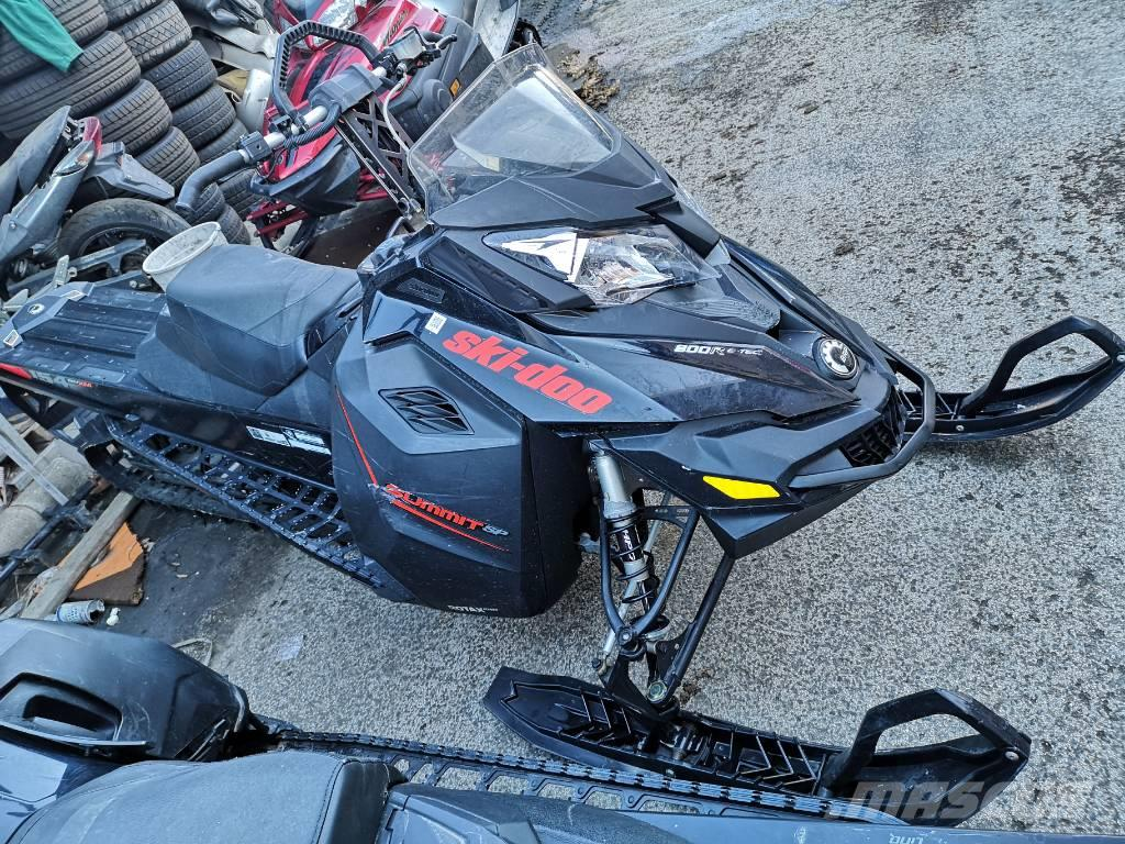 Ski-doo Summit 800 ETEC 154 2015 1800km