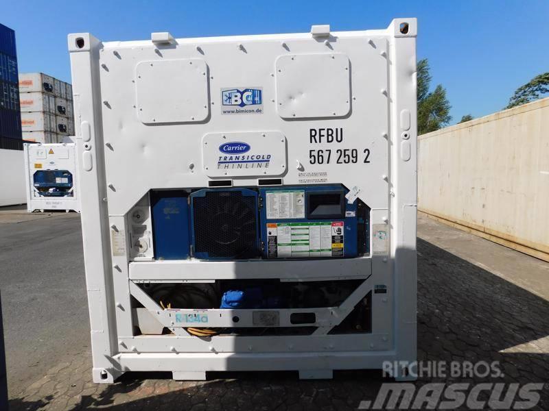 Carrier 20 Fuß Kühlcontainer, LED, PVC Kältevorhang