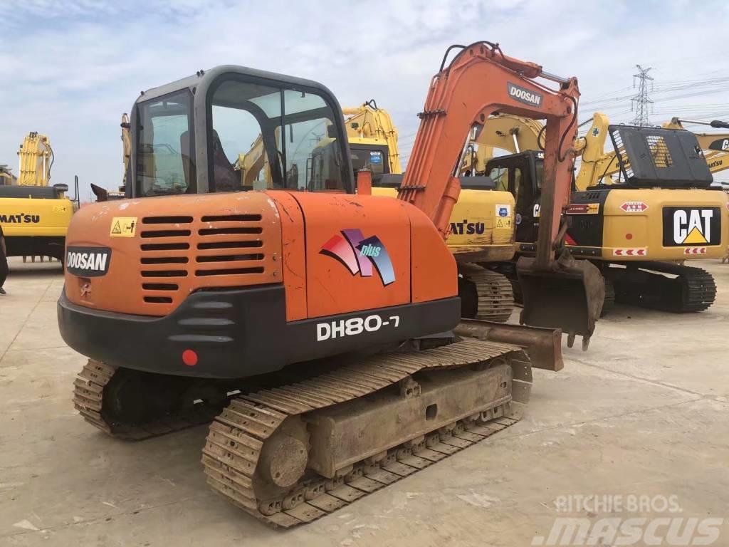 Doosan DH80-7  DH60-7  DH55-7履带式挖掘机