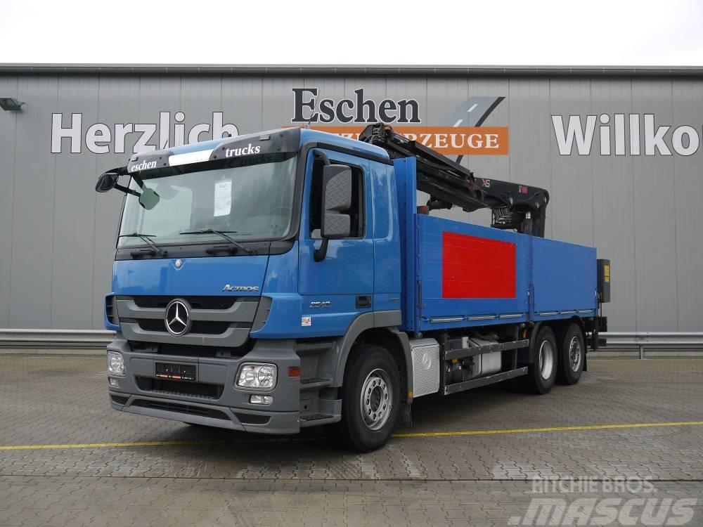 Mercedes-Benz 2548 LL / 6x2, Obj.-Nr.: 0484/19