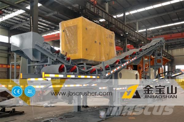 JBS 40t/h MC4060 mobile crushing plant