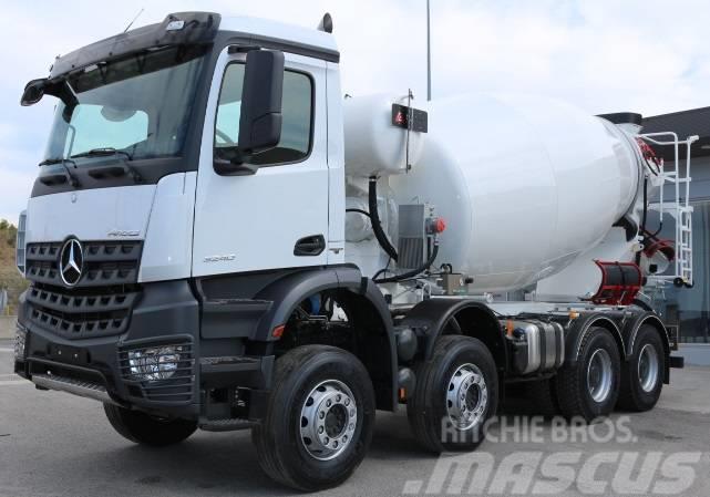 Mercedes-Benz Arocs 3240 - Concrete trucks, Price: £99,033, Year of ...