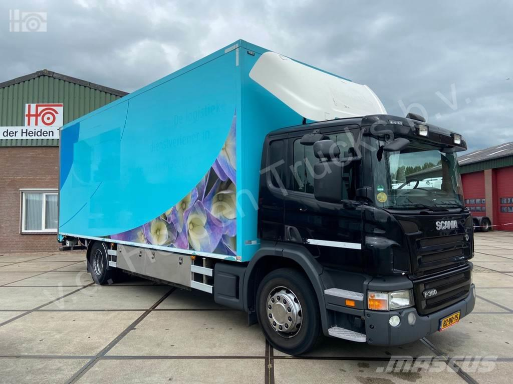 Scania P 360 B 4X2 Bloemen transport