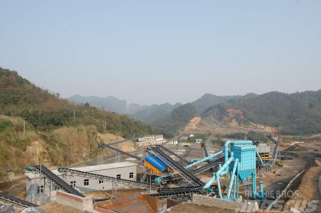 Kinglink 300TPH limestone crushing and sand production line