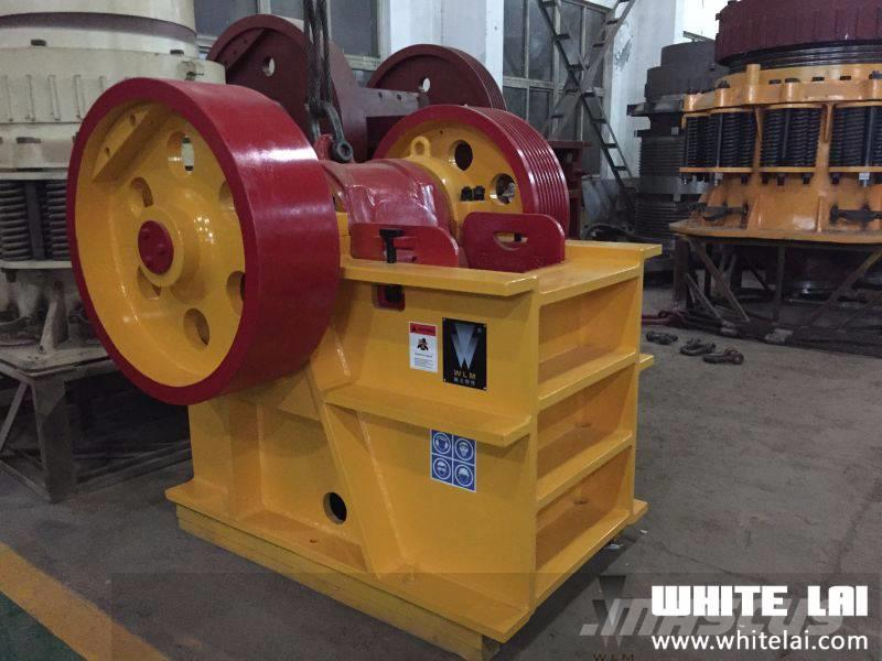 White Lai PE400x600 Rock Stone Jaw Crusher