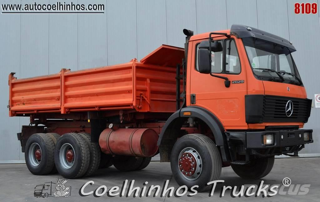 Mercedes 6X6 For Sale >> Used Mercedes-Benz 2629 K dump Trucks Year: 1989 Price: US ...