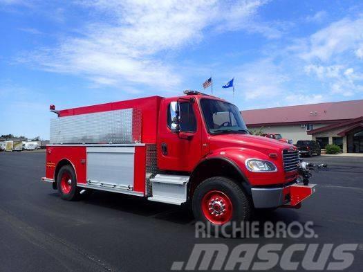 Freightliner 114SD Fire Emergency Tanker Truck, 21 Eng Hrs