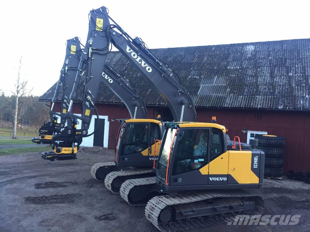 volvo ec140el engcon bandstyrning c sm rj v rmare baujahr. Black Bedroom Furniture Sets. Home Design Ideas