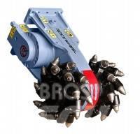 Rockwheel G5 hydraulic milling machine excavator mill