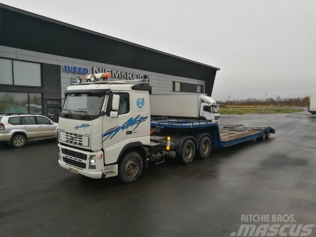 Volvo FH16 6x4 + Siimet 2 aks