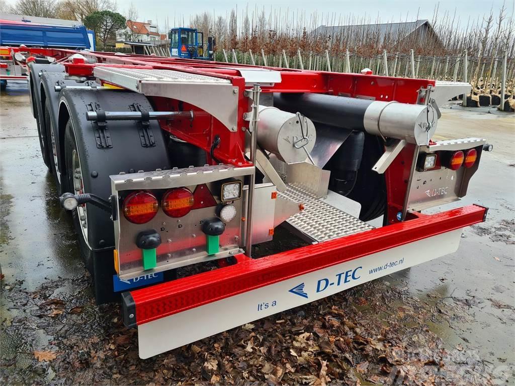 D-tec Trailer Container Carrier CC-20-3-T