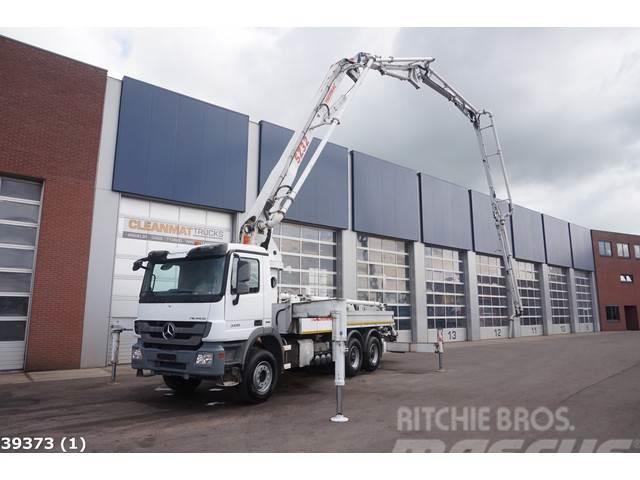 Mercedes-Benz Actros 3336 6x4 Sermac 32 meter