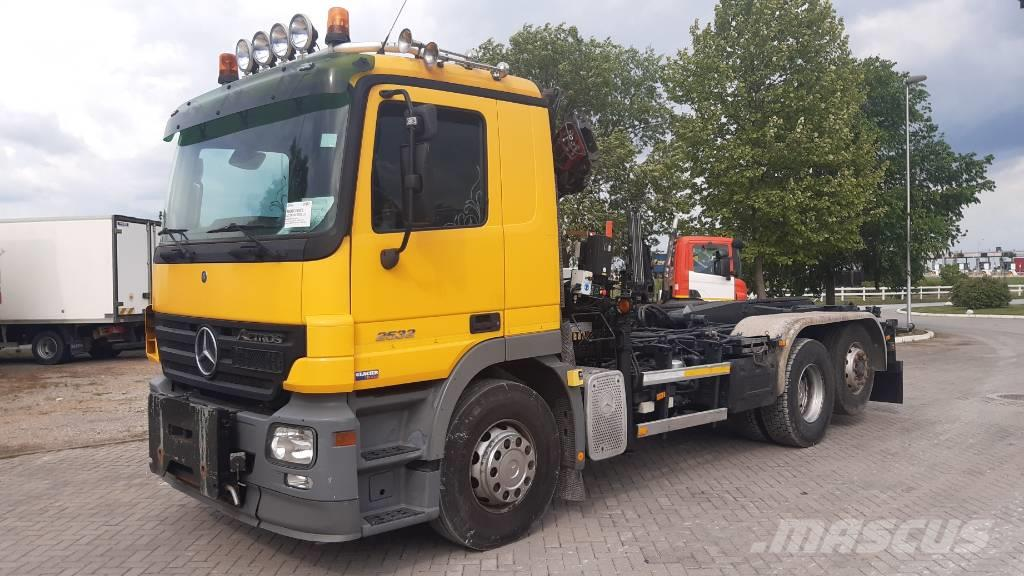 Mercedes-Benz ACTROS 2532 HIAB 085/ NL brief