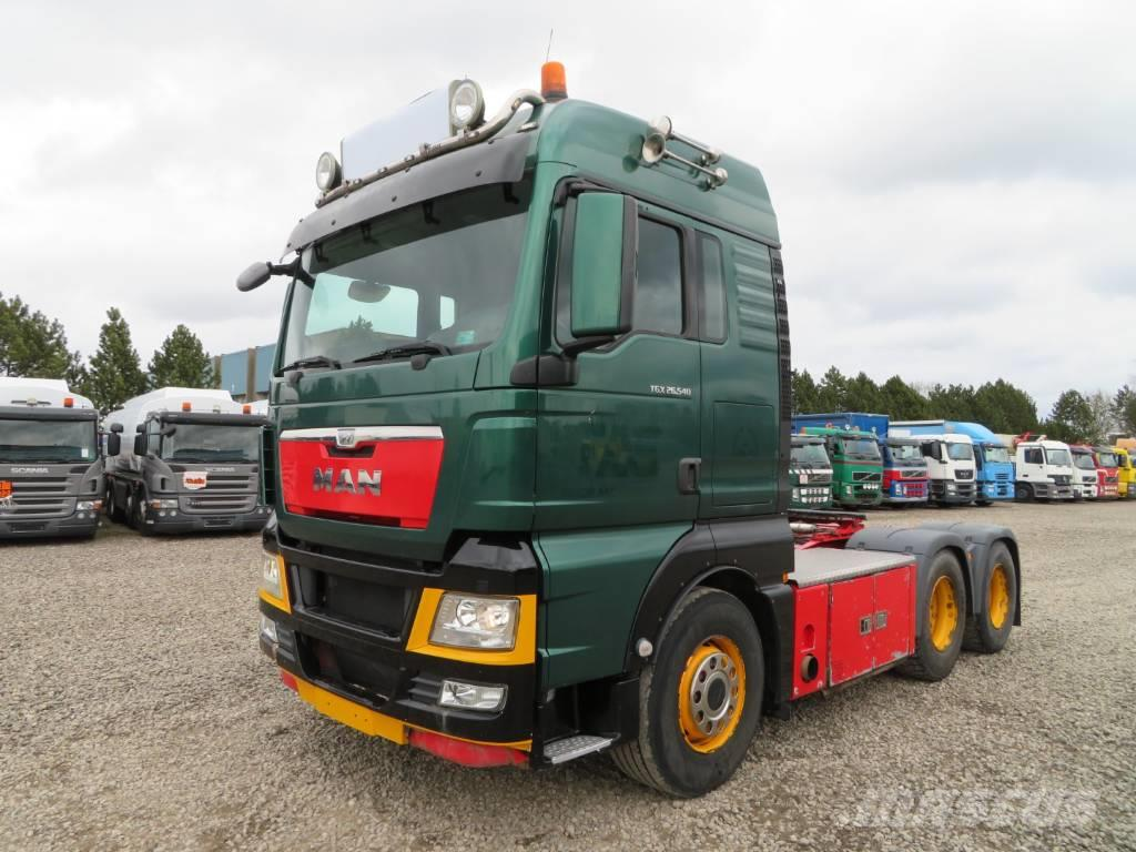 MAN TGX 26.540 6x4 Hydraulik Euro 5