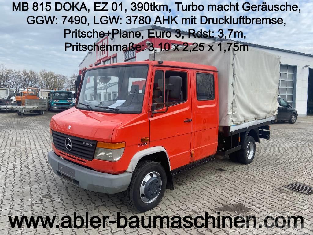 Mercedes-Benz 815 DOKA Pritsche + Plane