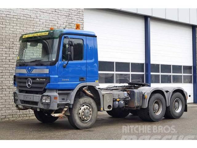 Mercedes-Benz ACTROS 3344AS 6X6 TRACTOR HEAD