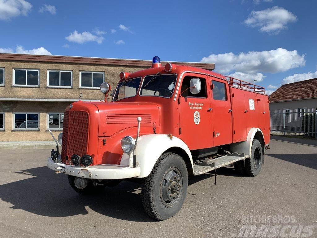 Mercedes-Benz LA 3500 Firetruck - 4x4 - 5364