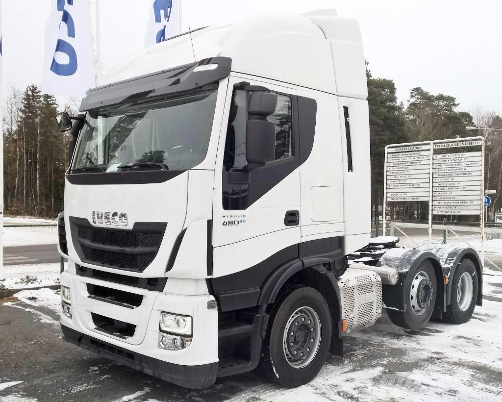 Used Iveco Stralis As440s48 Euro6 Tx P Tractor Units Year