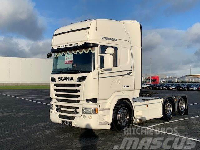 Scania R580,retader, hydrauliek, full air